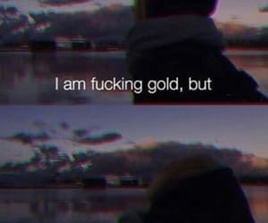 gold, heartbroken, and inspiration image