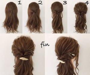 hair, tuto, and tutorials image