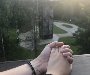 beauty, bracelet, and couple image