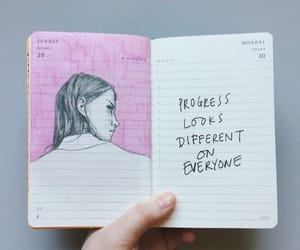 different, everyone, and bullet journal image