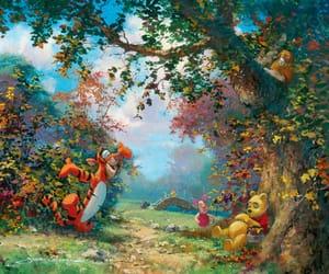 disney, winnie the pooh, and art image