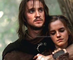 couple, draco malfoy, and emma watson image