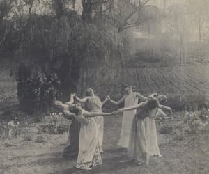 witch, coven, and vintage image