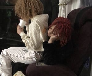 mom&dad, trippie&ayleks, and love scars image