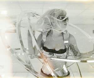 black and white, goddessoflove, and gaga image