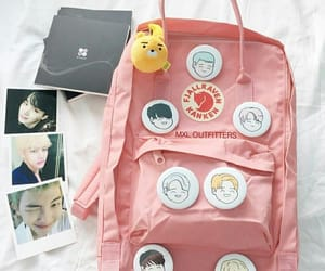 backpack, tumblr, and bts image