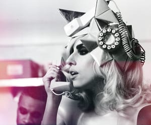 gaga, telephone, and the fame monster image