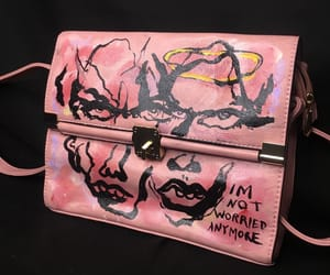 aesthetic, art, and bag image