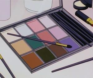 anime, makeup, and vintage image