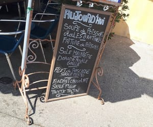 cassis, menu, and mer image