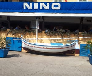 bateau, cassis, and port image