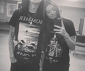 couple, motionless in white, and ricky olson image