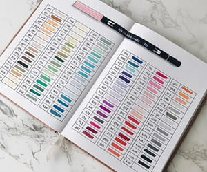 swatch and tombow image