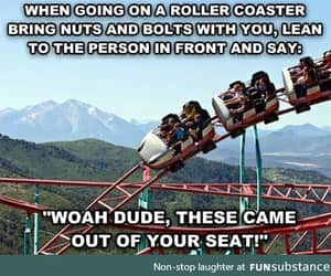 awesome, coaster, and funny image