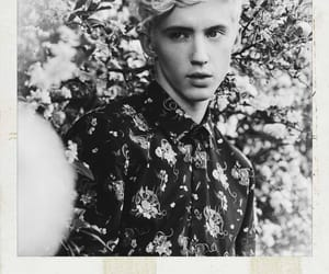 black and white, bloom, and troye sivan image