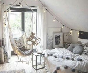 bedroom, decor, and decoration image