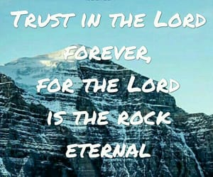 bible, quote, and rock image