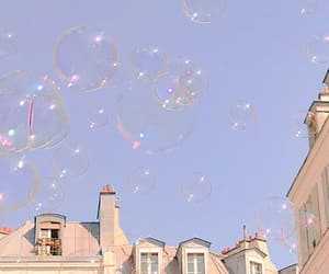 aesthetic, bubbles, and blue image