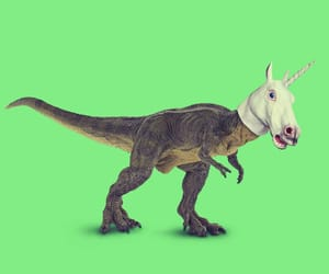 dinosaur, green, and lime image