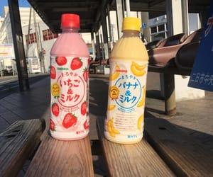 bananas, japan, and strawberry image