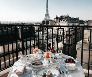 paris, breakfast, and city image