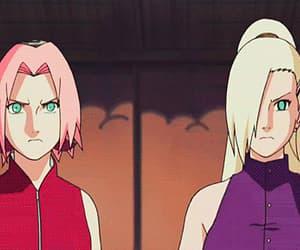 gif, sakura, and byakugou image