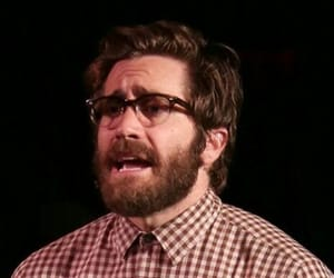 glasses, jake gyllenhaal, and cute image