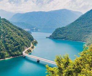 beautiful, blue, and Montenegro image