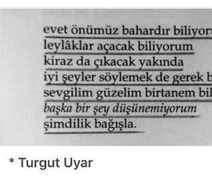 kitap, turgut uyar, and alıntı image