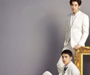 do, chanyeol, and do kyungsoo image