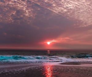 beach, sea, and world image