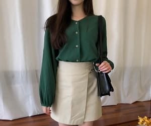 korean fashion, moda, and skirt image