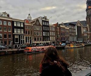 amsterdam, girl, and heart image