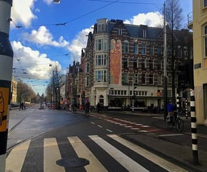 amsterdam, traveling, and winter image