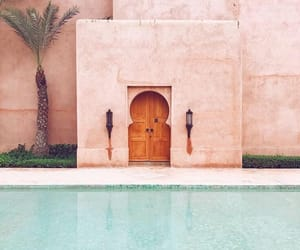 pool, pink, and place image