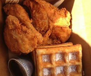 delicious, food, and fried chicken image