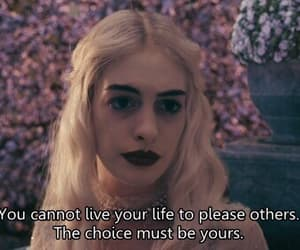 quotes, alice in wonderland, and movie image