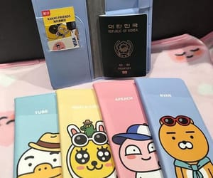 passport, seoul, and south korea image