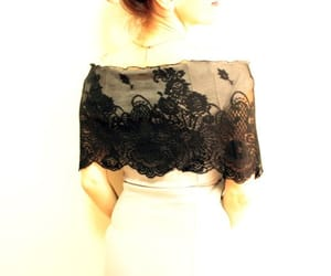 etsy, handmade, and lace shawl image