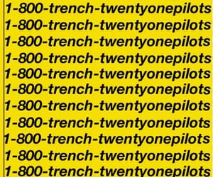 music, trench, and twenty one pilots image
