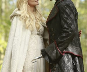 Jennifer Morrison, kiss, and once upon a time image