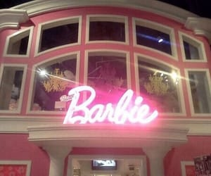 barbie, pink, and tumblr image