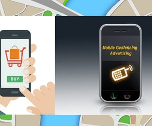 geofencing advertising and geo fence advertising image