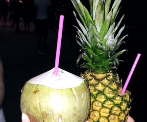 Cocktails, fruit, and pineapple image