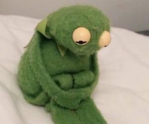 meme, kermit, and sad image