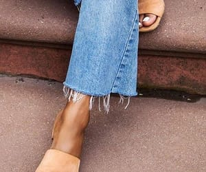 blue, jeans, and lifestyle image