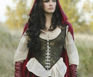 once upon a time, red riding hood, and red image