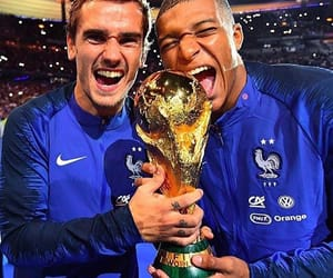 griezmann, 🇫🇷, and mbappe image