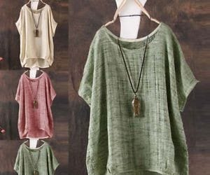 baggy, casual, and cotton image