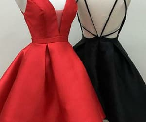 homecoming dress, cute prom dress, and a-line homecoming dresses image
